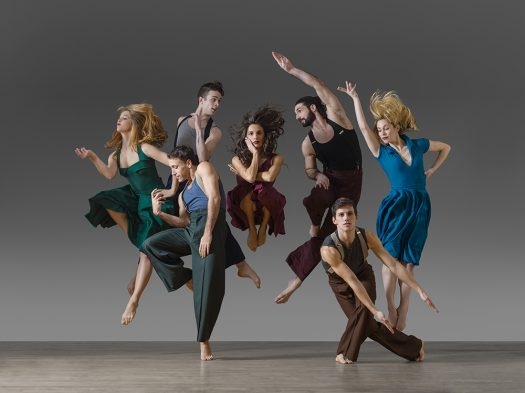 Experience the exhilarating feats of Parsons Dance Company at the Bologna Performing Arts Center on Nov. 9-10.