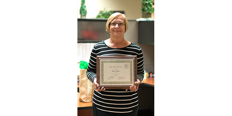 Lishman honored as Employee of the Month - News and Events