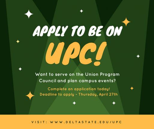 Union-Program-Council-Application