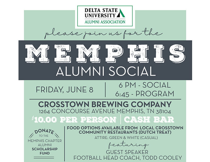 Alumni To Host Greater Memphis Area Alumni Chapter Social News And