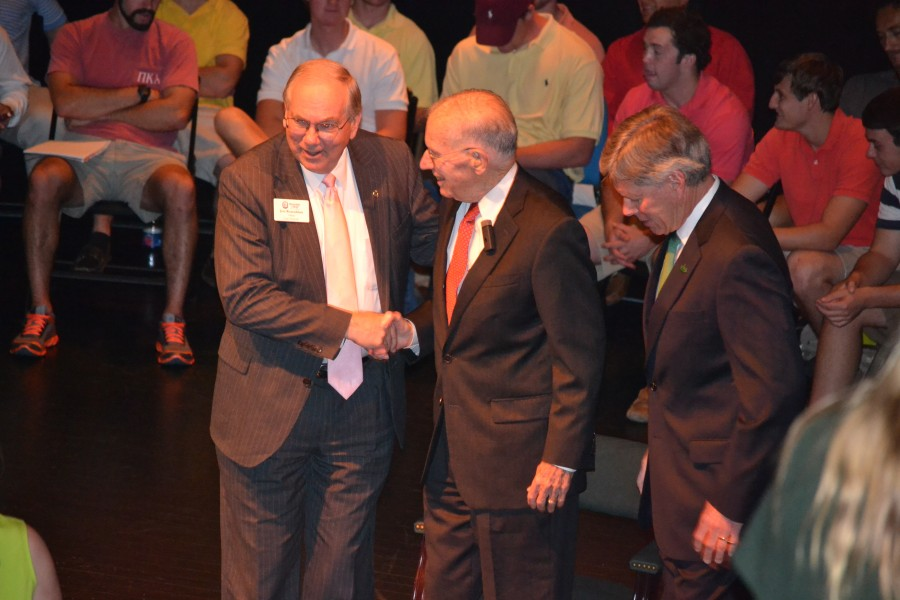DSU Colloquia Lecture Former Mississippi Gov. William F. Winter