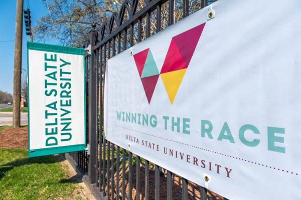 Winning The Race sign-2
